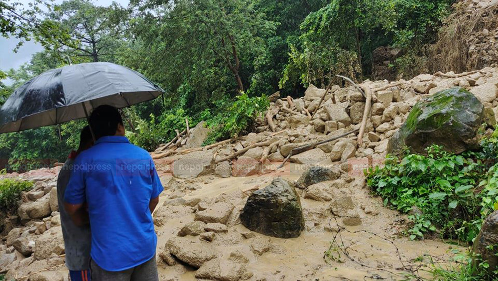 6 including 5 yo girl die as landslide buries house in Dhankuta